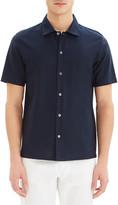 Theory Men's Isak Lucent Jersey Short-Sleeve Sport Shirt