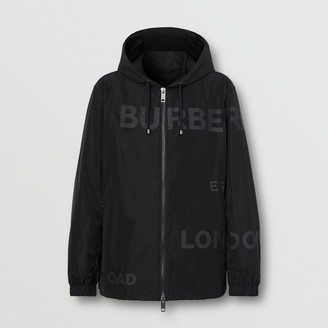 Burberry Horseferry Print Shape-memory Taffeta Hooded Jacket