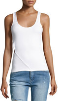 Cheap Monday Solar Ribbed Tank with Cutout Side
