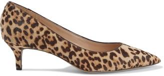 Sam Edelman Dori Leopard-print Calf Hair Pumps