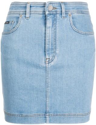 Dolce & Gabbana Denim Miniskirt