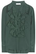Chloé Ruffled Silk Shirt