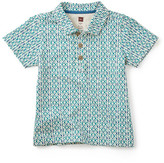 Tea Collection Kenya Allover Print Polo (Toddler & Little Boys)