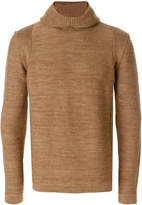Roberto Collina high neck hooded jumper