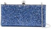 Jimmy Choo Celeste clutch - women - Leather/Brass/PVC - One Size
