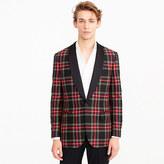 J.Crew Ludlow Slim-fit blazer in red tartan wool