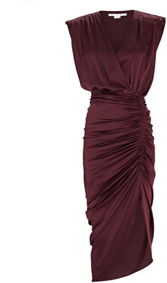 Veronica Beard Casela Sleeveless Wrap Dress
