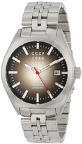 Cccp Men's CP-7012-11 Shchuka Analog Display Automatic Self Wind Silver Watch
