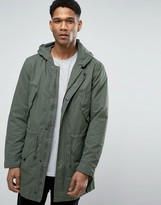 United Colors Of Benetton Parka With Drawstring Waist
