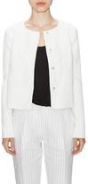 LK Bennett Perth Cotton Collarless Jacket