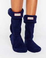 Hunter Short Navy Blue Boot Sock