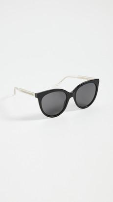 Gucci Anima Decor Round Sunglasses