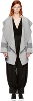 Burberry Grey Gorlan Coat