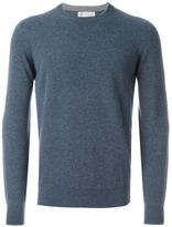 Brunello Cucinelli crew neck jumper - men - Silk/Cashmere/Virgin Wool - 48