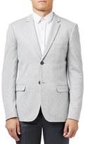 Topman Men's Skinny Fit Jersey Blazer