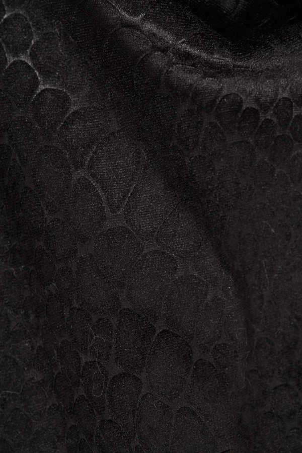 Topshop Textured Velvet Croc Leggings