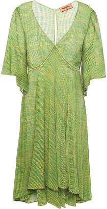Missoni Metallic Open-knit Dress