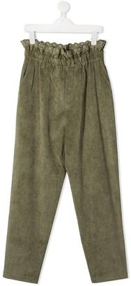 Philosophy Di Lorenzo Serafini Kids Paper-Bag Corduroy Trousers