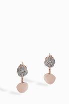 Monica Vinader Nura Diamond Nugget Jacket Earrings