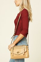 Forever 21 FOREVER 21+ Faux Leather Shoulder Bag