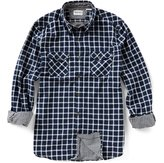 Timberland Branch River Double-Layer Plaid Long-Sleeve Woven Shirt