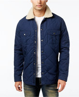Lucky Brand Men's Quilted Jacket with Fleece Lining