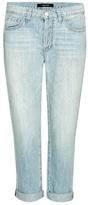 J Brand Sadey Low-rise Slim Straight cropped jeans