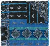 Etro paisley pattern printed scarf