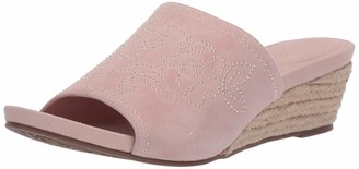 Taryn Rose Women's Slip on Espadrille Wedge Sandal