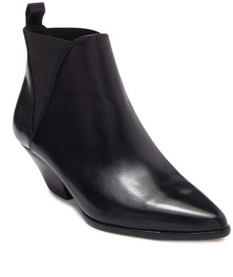 Diane von Furstenberg Nadie Leather Pointed Toe Bootie