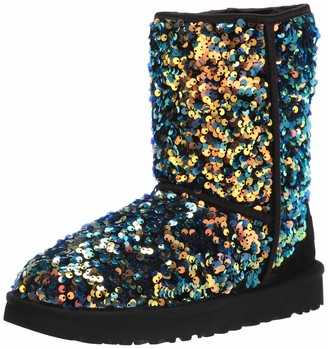 UGG womens Classic Short Stellar Sequin Fashion Boot