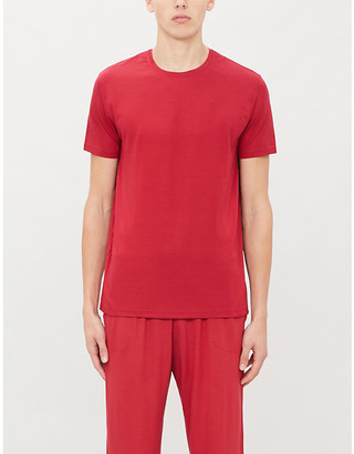 Derek Rose Basel crewneck stretch-modal T-shirt