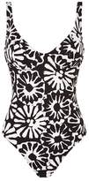 Tory Burch Floral Printed Swimsuit