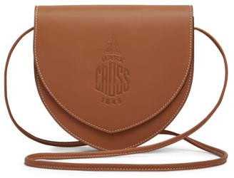 Mark Cross Dunes Leather Saddle Bag
