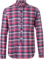 Maison Margiela classic plaid shirt