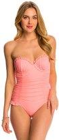 Betsey Johnson Ballerina Mesh One Piece Swimsuit 8140773