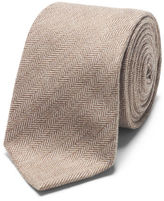 Club Monaco Herringbone Cotton Tie