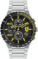 Ferrari Men's Chronograph Speciale Evo Chrono Stainless Steel Bracelet Watch 45mm 0830362