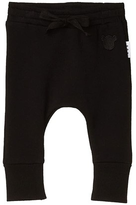 HUXBABY Drop Crotch Pants (Infant/Toddler) (Black 2) Kid's Casual Pants