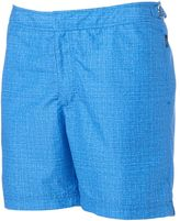 Men's Cole Slim-Fit Heathered Hybrid Swim Shorts