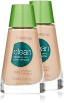 Cover Girl Clean Sensitive Skin Liquid Makeup Soft Honey Warm 255, 30ml