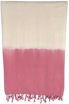 Slate & Salt Dip Dye Rose Turkish Beach Towel