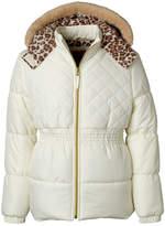 Pink Platinum Girls Heavyweight Quilted Jacket-Toddler