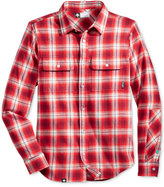 Lrg Men's Vice Plaid Flannel Shirt