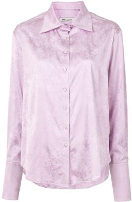 ANNA QUAN Lana jacquard shirt