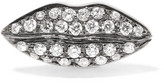 Delfina Delettrez 18-karat White Gold Diamond Earring - one size