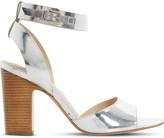 Dune Jamila leather heel sandals