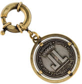 Lanvin Logo Medallion Keychain