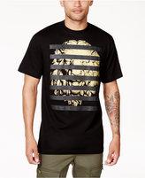 Sean John Men's Lion Stripes Graphic-Print T-Shirt