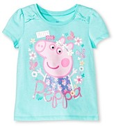 Peppa Pig Toddler Girls' Peppa Pigs Short Sleeve T-Shirt - Mint